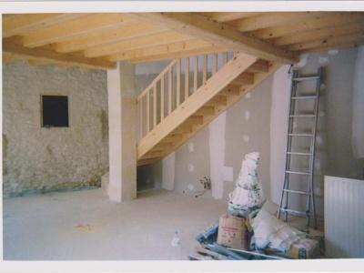 escalier bois papinot
