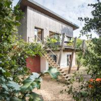 Maison architecte bois