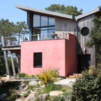 Maison architecte terrain en pente