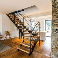 escalier central piece à vivre